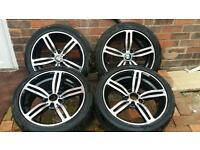 Set of 18 inch Bmw alloys