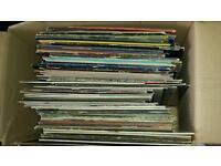 Mixed box vinyl, 100 in total