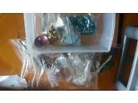 Massive jewelery making kit selection. Inc Stirling silver. Crafts. Bargain.