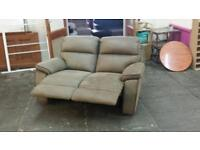 Ex display 2 seater recliner sofa only £150