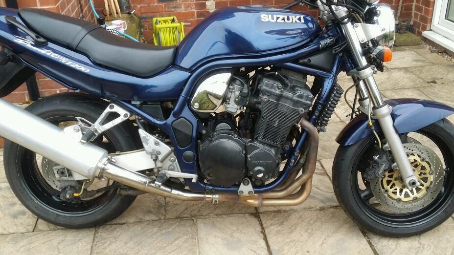 suzuki bandit 1200 mk1 in huddersfield west yorkshire. Black Bedroom Furniture Sets. Home Design Ideas