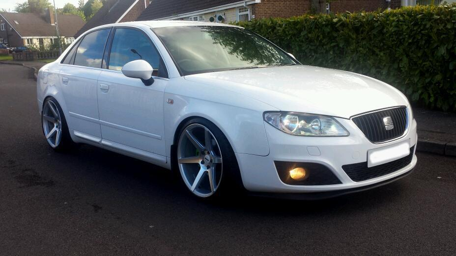 seat exeo 2010 sport white 19 inch alloys in londonderry county londonderry gumtree. Black Bedroom Furniture Sets. Home Design Ideas