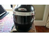 V2 Sport Pro motorsport crash helmet for sale.