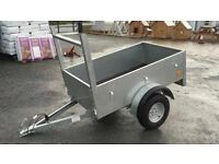 New galvanised 5x3 trailer handy wee trailer around the house