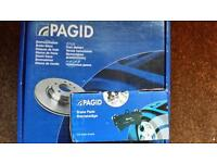 Pagid Break Discs and Pads for Mondeo Mark 4 Brand New