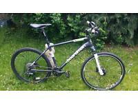 Cboardman team r hybrid mountain bike 18 frame £350.