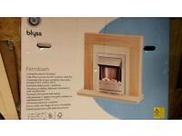 Blyss Ferndown fireplace