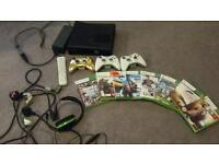 Xbox 360 8 games ect