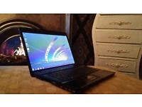 Hp laptop 500gb Dual core 2ghz 3gb ram Wireless/Bluetooth 15.6led with webcam 2 hour battery
