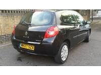 Renault Clio 2007 Black Very Low millage