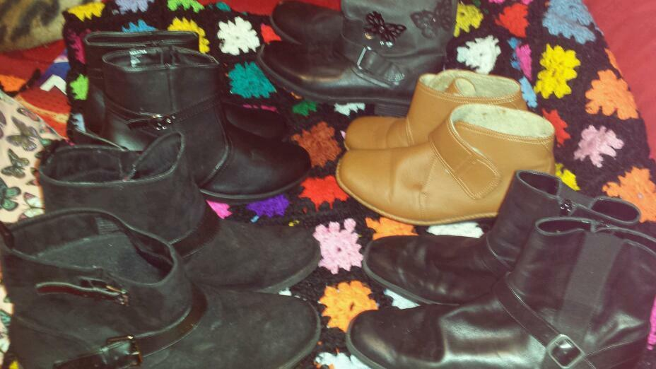 Boots sizes 7 8 and 9in Ashby de la Zouch, LeicestershireGumtree - Boots all £5 a pair tall boots next size 7 black Suade boots size 9 black boots size 8 but more like 7 all other boots size 7 Collect from ashby