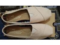 Toms women shoes classic light grey size uk 3/us 5