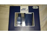 David Beckham Classic Blue Gift Set
