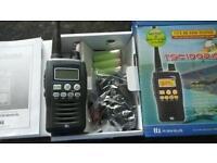 Hand-held radio scanner