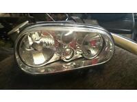 Golf headlight