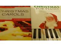 2 Christmas carol books for sale