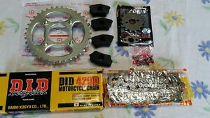 Honda ct70 trail70 sprocket chain set