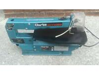 Clark woodworker Scroll Saw. Used but working fine.