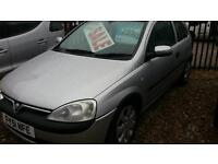 2001 Vauxhall corsa 1.2 wide 5spd wide mot Feb 2017