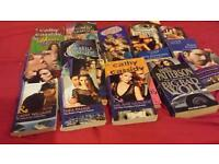 selection of books / romantic genre