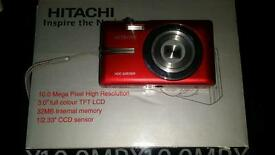 Hitachi 10.0 mega pixel camera