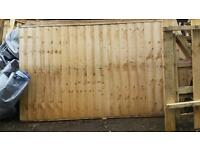 New fence panels or shed ends