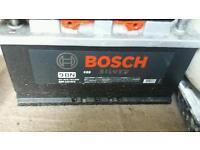 Bosch silver heavy duty van \car battery