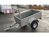 New galvanised 5x3 trailer handy wee trailer around the house