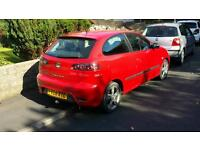SEAT Ibiza Sportrider 1.9tdi pd 100bhp (FSH, 86k, 56mpg, New Timing Belt, 10mth MOT)