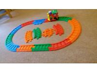 Large toy train set excellent working order