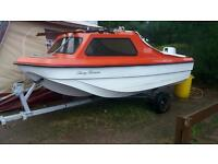 Boat and 25hp outboard