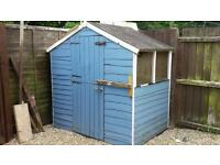 Playhouse/shed taken now ready to go