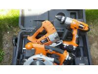 18v drill curcular saw