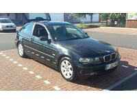 BMW 316ti *FREE 6 MONTHS AA*LONG MOT*