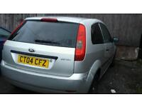 Fiesta for sale or swap looking for small van or bigger car