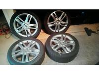 Renault alloys nd tyres
