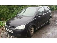 Vauxhall corsa breaking for spares