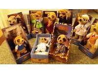 9 toy meerkat soft toys