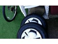 2 x Firestone tyres 155 / 80 R 13 79T. e for toyota.etc.