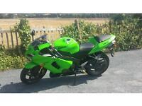 Kawasaki zx6r 636 fsh 12m mot mint cond low miles px poss
