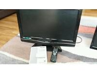 "22"" HD Ready Digital LCD TV with built in DVD player Bush BTVD31217S2"