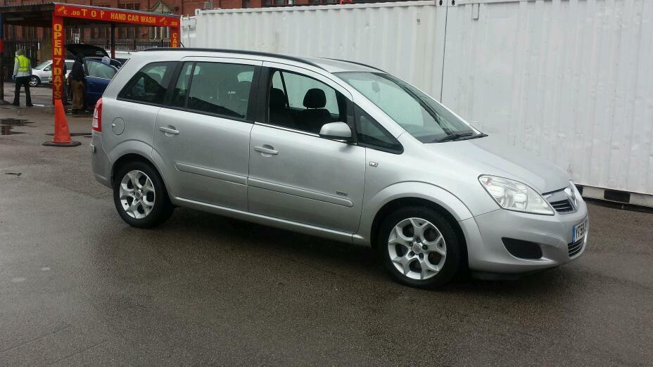 2008 vauxhall zafira 1 9 cdti automatic in bolton. Black Bedroom Furniture Sets. Home Design Ideas