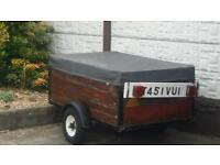5x3 trailer in solid condition