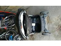 Graco Quattro pushchair and foot muff