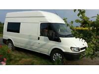 Ford Transit Campervan - cratsman built to a high standard