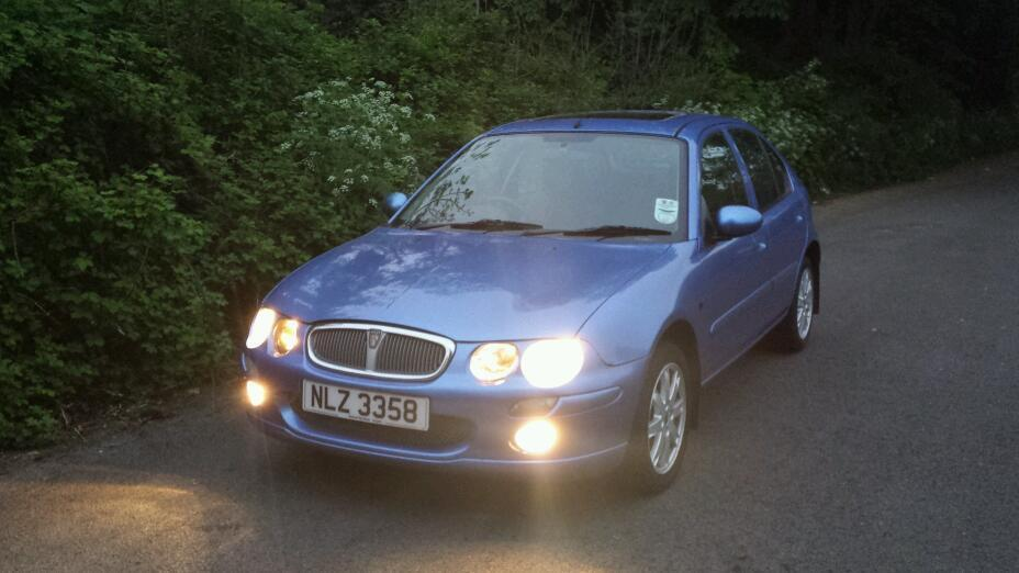 2004 rover 25 1 4 se full years mot in downpatrick county down gumtree. Black Bedroom Furniture Sets. Home Design Ideas