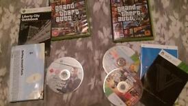 Xbox 360 GTA 4 & GTA 5