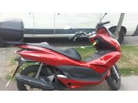 Honda pcx 125cc red
