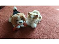 Fur real pets dog and kitten