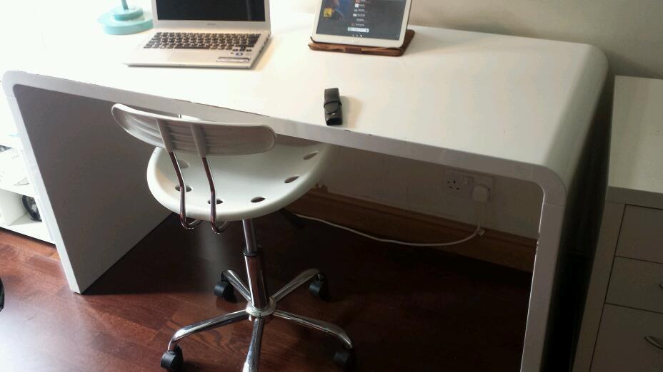 Dwell Hudson Gloss White Desk In Woolwich London Gumtree